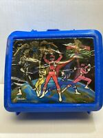 Vintage Aladdin Mighty Morphin Power Rangers Lunch Box As Is