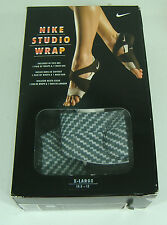 Womens XS 5 5.5 6 NIKE Studio Wrap 2 PRT Gray Dance Sandals Shoes $50 641529-001
