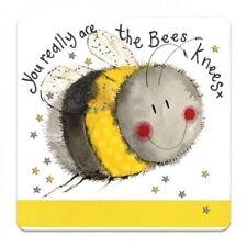 Bees Knees Corked Backed Coaster, Alex Clark, Summer, Nature, Tea, Coffee C101
