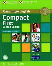Cambridge COMPACT FIRST FCE Student's Book SECOND ED for Exam from 2015 w CD NEW
