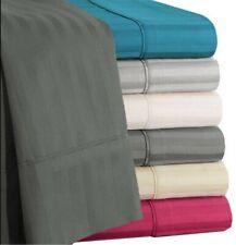 Cozy Bedding Item Extra Deep Pocket Organic Cotton US Full XL Size Stripe Colors