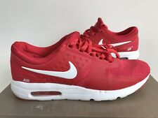Nike Air Max Zero Shoes Red Tinker Hatfield 789695-005 Men's Size 12 08/26