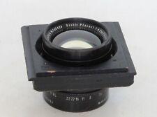 Hugo Meyer & Co. Gorlitz double plasmat 7 3/4 inch f:4 12 5/8 inch f:8 lens LQQK