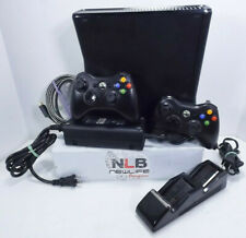 Microsoft Xbox 360 Console 1439 With 2 Remotes, Remote Charger, AC Adapter