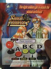 Shock Troopers Neo Geo Mini Arcade Marquee