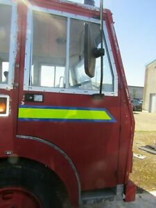 Bedford Lorry Fire Engine Front Driver Off Side DS OS Door