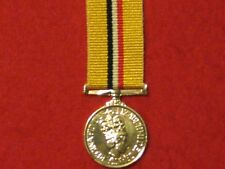 Miniature Operation Telic Iraq MEDAL WITHOUT Clasp in Mint Condition