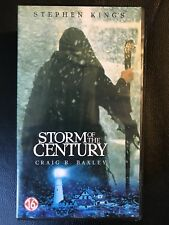 Storm Of The Century Vintage Double Box VHS Tape English dutch with subs