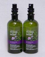 Bath & Body Works Aromatherapy Eucalyptus Tea Stress Relief Pillow Mist X2