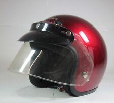 b6f5b4a5 Cyber U-4 ABS Motorcycle Helmet Burgandy Cherry Red Metallic w/ Visor Size  Small