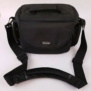 Samsonite Camera/Accessories Case Shoulder Bag Multiple Pockets Padded Black