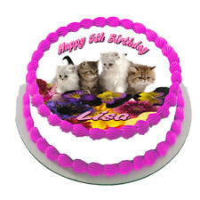 CATS  REAL EDIBLE ICING  CAKE TOPPER PARTY IMAGE FROSTING SHEET