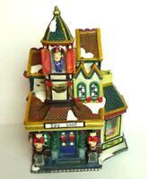 Toy Shop Victorian Train Christmas Village Grandeur Noel 2001