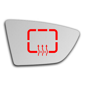 Right Side Clip On Heated Mirror Glass for Seat Leon 2012 - 2019 0851RSHP