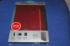 X-Doria Dash Folio For iPad Mini Red Faux Leather Auto Wake/ Sleep Function