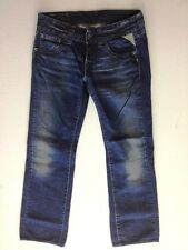 Replay WV 531M Jeans Hose Dunkelblau Dark Washed W30 L34