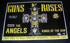 Guns 'N' Roses Sydney Entertainment Centre,Australia 1988 Repro Concert Poster