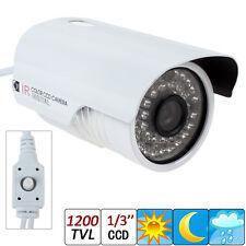 1200TVL 1/3 Sony CCD 960H 36 LEDs IR 30 Meters 6mm Lens CCTV Camera