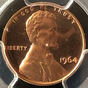 1964 1C RD Proof Cameo Lincoln Memorial One Cent  PCGS PR66RD CAM       25197238