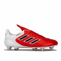 adidas Mens Copa 17.1 Soft Ground Football Boots in red and white