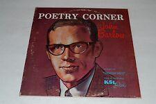 "Poetry Corner With John Barlow~As Heard On ""Crossroads""~KSL Radio~FAST SHIPPING!"