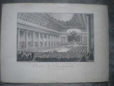 Ouverture des Etats Généraux - Versailles - 5 Mai 1789 - Tirage Fin XIX èS.