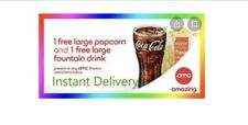 (REUSABLE!!!) *FAST E-DELIVERY* (1)Large Popcorn & (1) Large Fountain Drink.