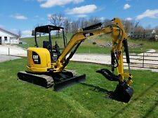 2013 Cat 303.5E CR Diesel Hydraulic Mini Excavator Blade with Cat Hydro Thumb...