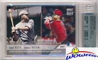 2018 Topps#MOW1 BABE RUTH & SHOHEI OHTANI ROOKIE Limited Edition BGS 10 PRISTINE