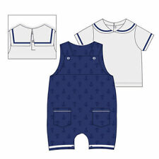 Embroidered Nautical Outfits & Sets (0-24 Months) for Boys