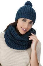 Chapeaux noir en acrylique taille unique pour femme