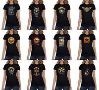 Guns N' Roses Women's Black T-Shirt (S-XL) Ready to ship!