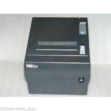 POSligne TRP-100 Thermo Bon Drucker  RS-232 Serial - Black