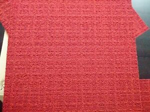 Neuf Desso Scape 18 dalles moquette rouge brique 4,5m² new carpet tiles
