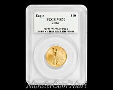 2004 $10 Gold Eagle PCGS MS70