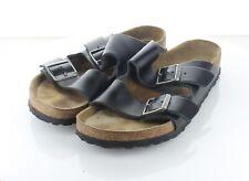L16 $135 Men's Sz 7 M Birkenstock Arizona Leather Soft Footbed Sandal