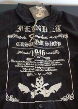 FENDER Guitar CUSTOM SHOP Embroidered Rock & Roll Religion NEW Shirt XL Black