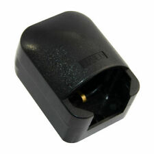 Earthed Schuko Euro EU 2Pin to UK 3Pin AC Power 13A Fused Plug Socket Adapter