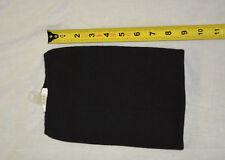 New scarf neck tube warmer black acrylic ( bte#82)