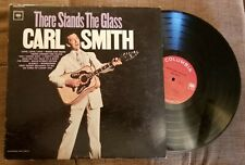 """Carl Smith """"There Stands the Glass"""" 12"""" Vinyl Record LP"""