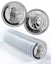 Mint Roll of 20 x 2014 Australia 1 oz Perth .999 Silver Kookaburra