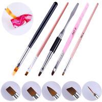 Nail UV Gel Brush Liner Pen Arcylic Painting Drawing Nail Art Manicure Tools