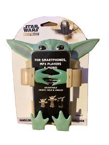 New Disney Baby Yoda The Child Mandalorian Flexi Phone Holder & Stand