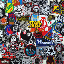 STAR WARS Ultimate PATCH COLLECTION - 50+ Styles, Under £2, UK Fast Free Post!