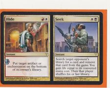 MTG Magic 1 x Dissension Rare  HIDE // SEEK  Instant  Never played
