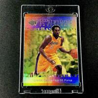 KOBE BRYANT 2000 UPPER DECK #PB4 PURE BASKETBALL HOLOFOIL REFRACTOR INSERT NBA