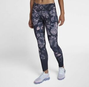Nike Epic Lux Floral Print Women's Running Tights - AH8174 081