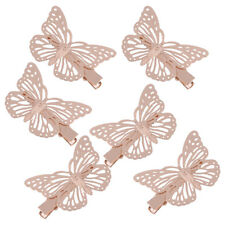 6pcs Butterfly Hair Clips Hairpins Barette Clamps Fashion Design Gift