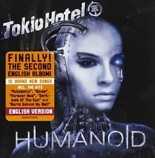 Tokio Hotel - Humanoid (CD 2009) English Version  NEU!!
