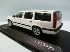 VOLVO 850 BREAK WHITE MINICHAMPS 1:43 LIMITED EDITION